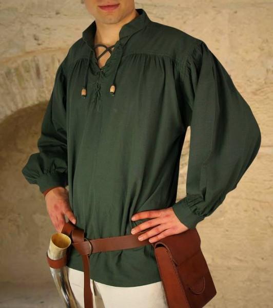 Mittelalterhemd mit Ärmelbund