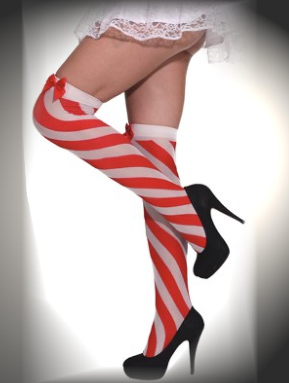 str mpfe strick rot weihnachten karneval kost mtruhe. Black Bedroom Furniture Sets. Home Design Ideas