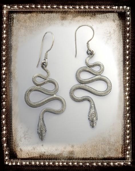 Silber Ohrringe Schlangen