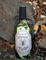 Flasche Flacon Spider 22cm