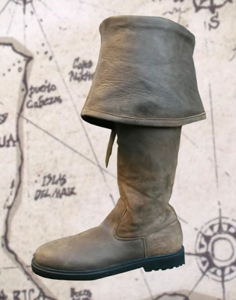historische Piratenstiefel Antik