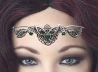 Diadem Tiara grün