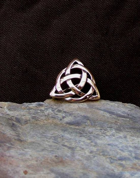 Brosche Triangle bronze
