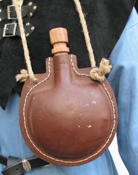 mittelalterliche Trinkflasche (Trankflasche)