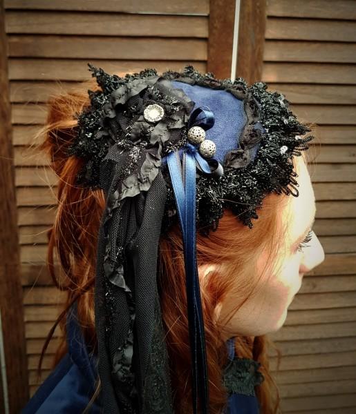 Kopfbedeckung Haarschmuck 19.Jhd.