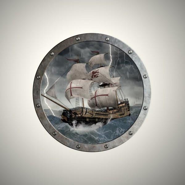 Schild Piratenschiff Silent Mary