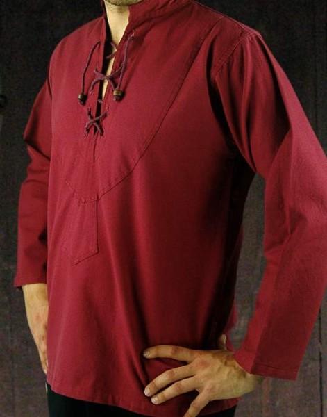 Mittelalterhemd mit Biese