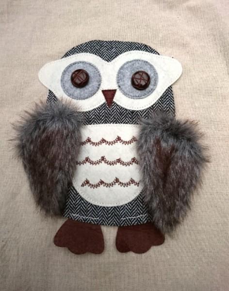 Aufnäher Eule Owly