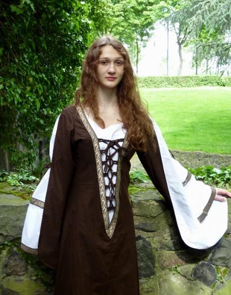 Mittelalterkleid Duchesse braun
