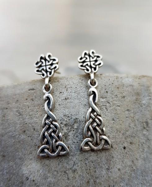 Ohrringe keltisch Stecker