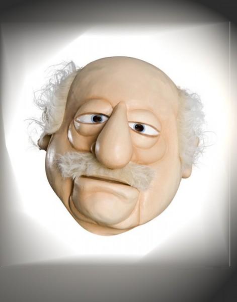 Muppets Opa Maske Waldorf