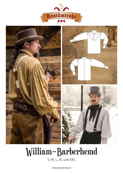 Schnittmuster Herren Hemd William