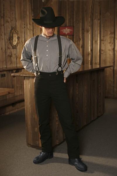 Westernhose Dillon schwarz