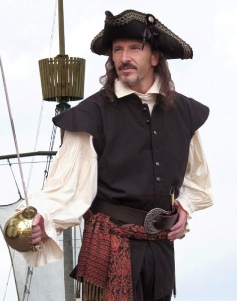 Weste Pirat Damen und Herren