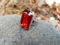 Ring Piraten Vampire roter Stein