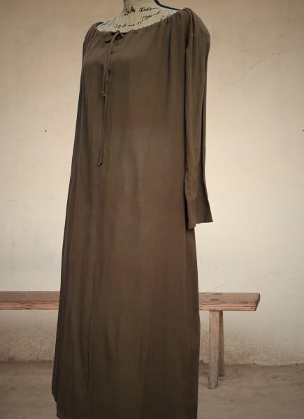 Unterkleid Bäuerin 18.Jh. braun S/M