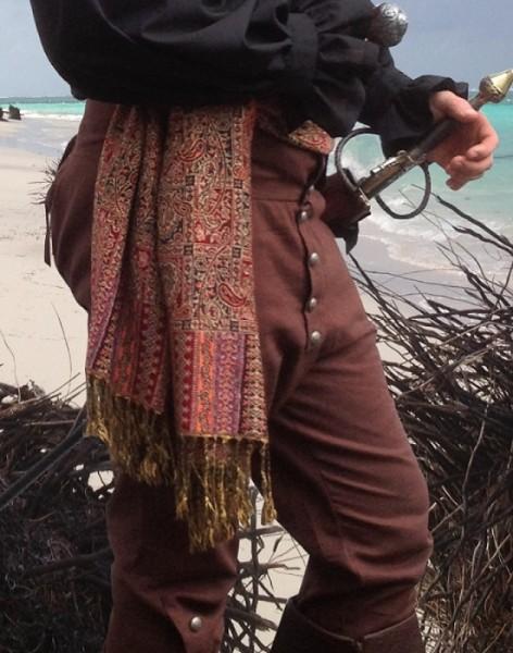 Kniebundhose Pantalon ca.1750 braun