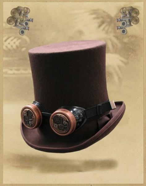 Steampunk Goggles Fliegerbrille