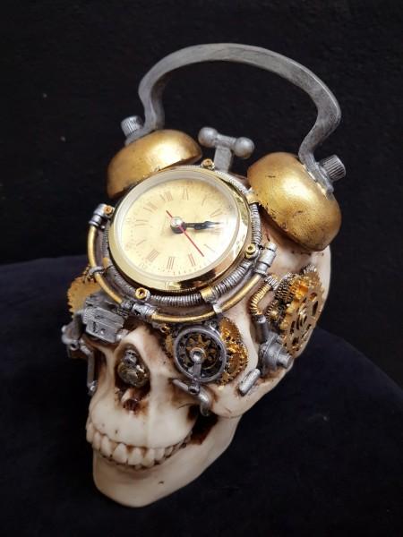 Skull Wecker Steampunk