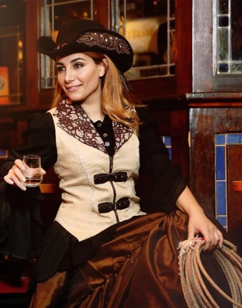 Weste Saloongirl Virginia