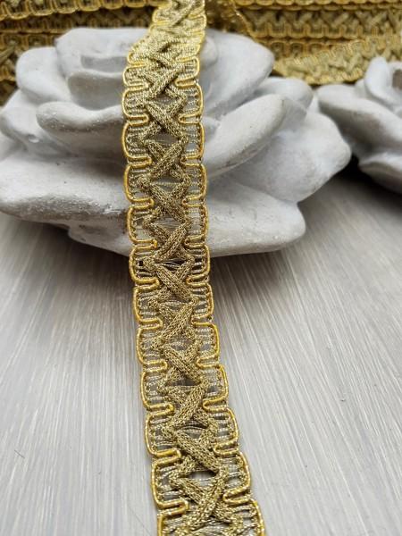 Borte antikgold metall 20mm