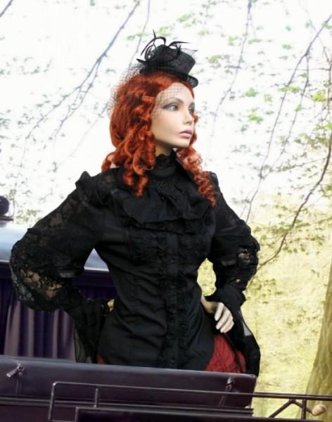 Viktorianische Bluse Steampunk