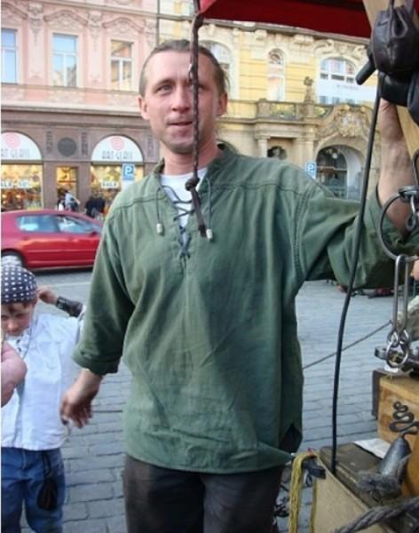 Mittelalterhemd mit Biesen