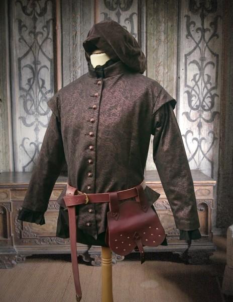 Renaissance Doublet Jacke Kupfer