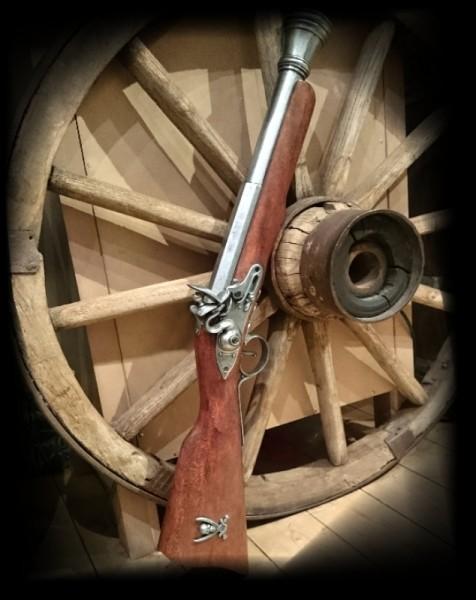 Piraten-Gewehr Tromblon 18Jhd.