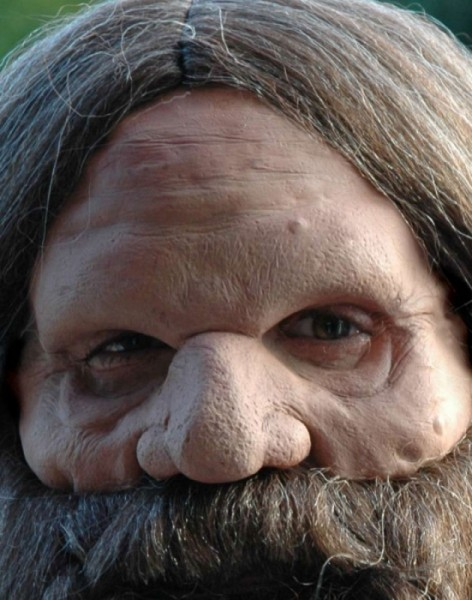 Maske Zwerg Wikinger