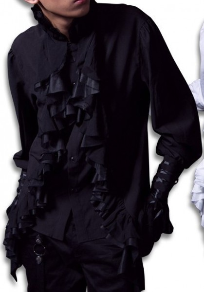 Langes Vampir Hemd L- XL