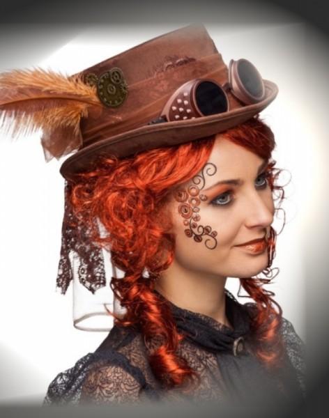 Steampunk Karnevalshut