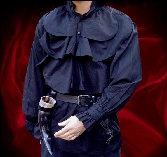 Pastorenhemd auch Vampir Dracula