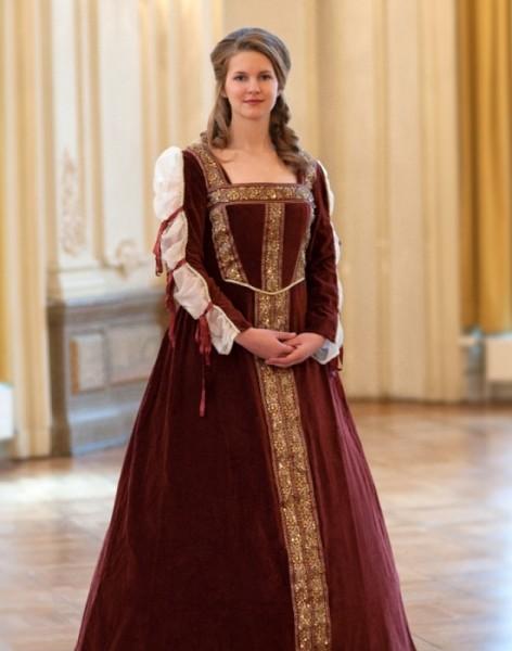 Renaissance Dornröschen Kleid