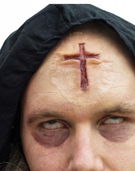 Priester Kreuz Wunde Latex