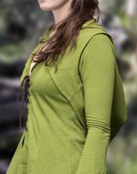 Elfen Cape Kapuze grün