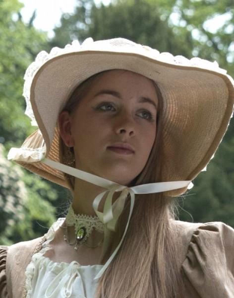 Damen Empirehut Strohhut