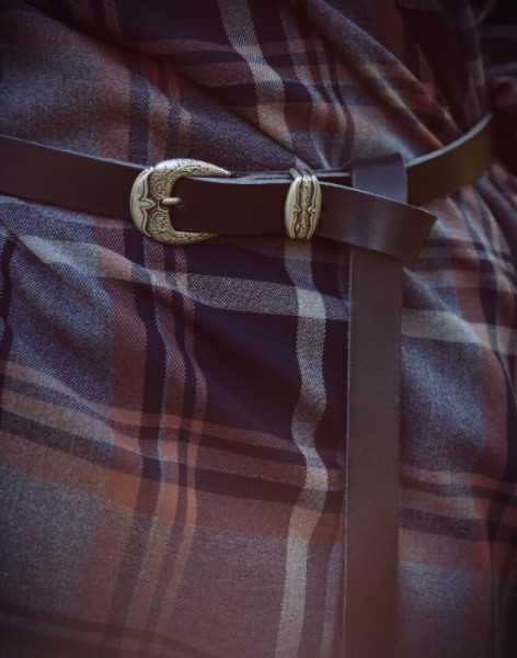 mittelalterlicher Kilttaschengürtel schwarz