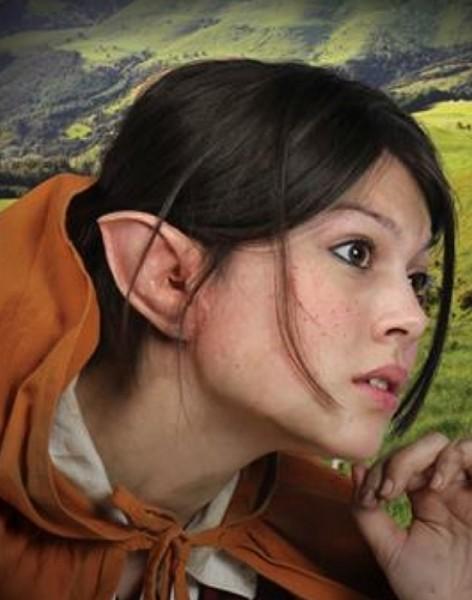 Halbling Ohren