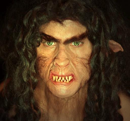 Werwolf Halbmaske