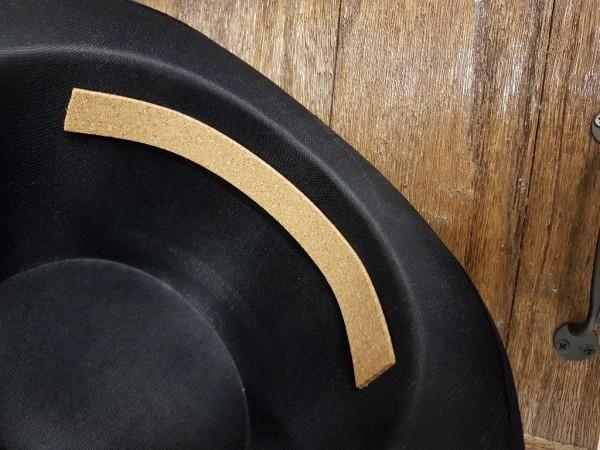Korkstreifen für Hutverkleinerung