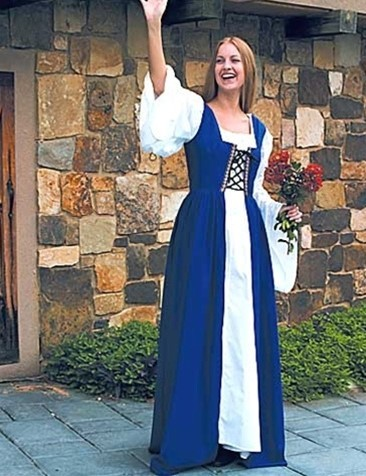 Maidens Dress Überkleid blau