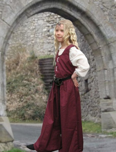 Mittelalter Kleid und Bluse
