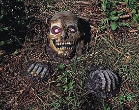 Gruseldeko Skull Bodenshocker