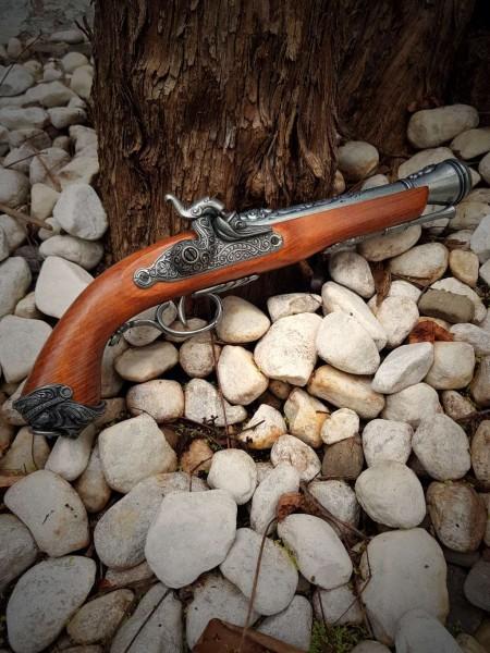 Piraten Pistole Replik Kopf