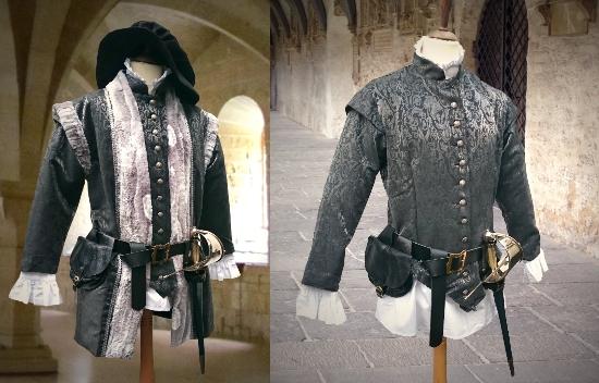 historische hochwertige Kostüme | Kostümtruhe