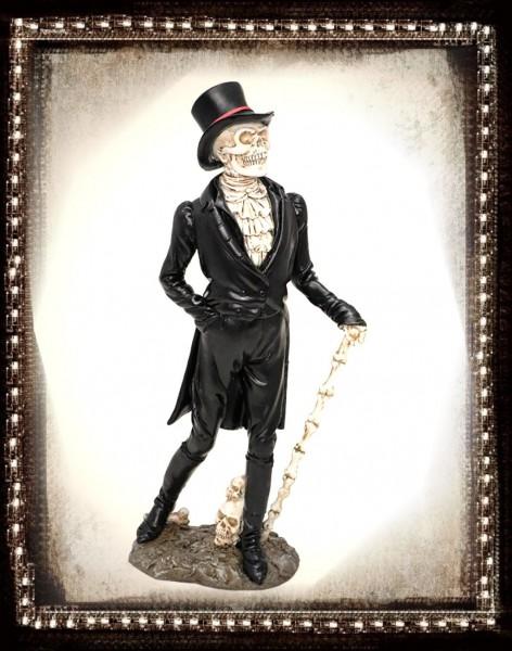 Figur Skelett Monsieur Skully