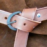 Spätmittelalter Gürtel Eisen 3cm