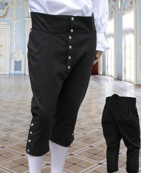 Kniebundhose Pantalon ca.1750 schwarz
