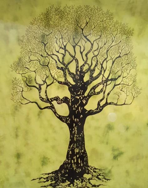 Tuch Lebensbaum Dekoration